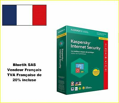 Kaspersky Internet Security 2018 Mise à jour 1 Appareil 1An,PC,Mac,Android, iOS
