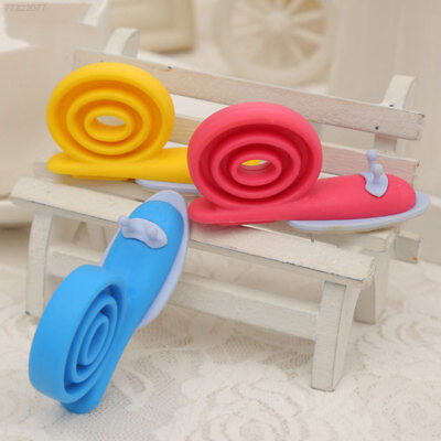 351B Door Clip 5.6*3*1CM Snail Shape Baby Safety Home Security Cartoon Silicone