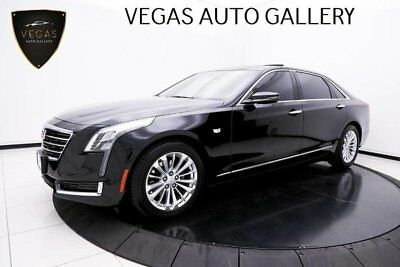 2017 Cadillac CT6 Sedan Luxury RWD Panoramic Moonroof, Aluminum Door Sills & BOSE Audio