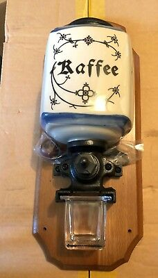 Antique Wall Mount Coffee Grinder **reproduction**