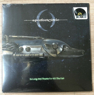 """A Perfect Circle So Long And Thanks For All The Fish 7"""" Rsd Black Friday 2018"""