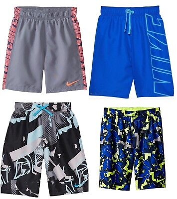 New Nike Boys Swim Trunks Shorts Choose Color and Size MSRP $38.00