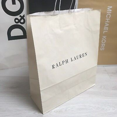 NEW RALPH LAUREN 48x40cm Shopping Paper Carrier Bag Collectable Gift ... 817f1f37377a7