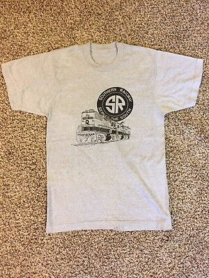 Southern Railway vintage t-shirt, engine 7008 locomotive