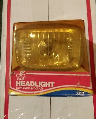 Vtg Bicycle Cycle Brand Headlight N.o.s
