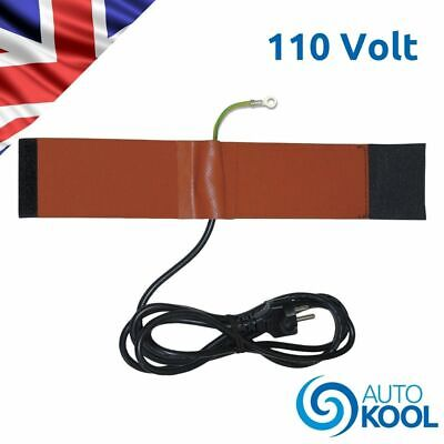 98250 Mastercool 110v Electronic Refrigerant Tank Heater Warmer Belt Blanket