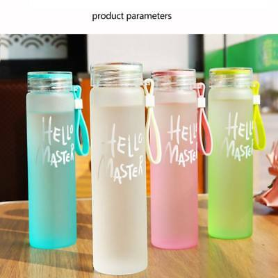 Portable Sport Glass Bottle Cold Hot Water Drink Bottle Camping Cycling Mug Cup