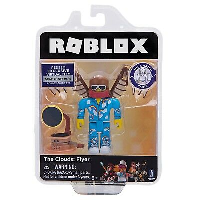 Roblox THE CLOUDS: FLYER Celebrity GOLD Series 1 2 Figures Toys Packs+New Codes