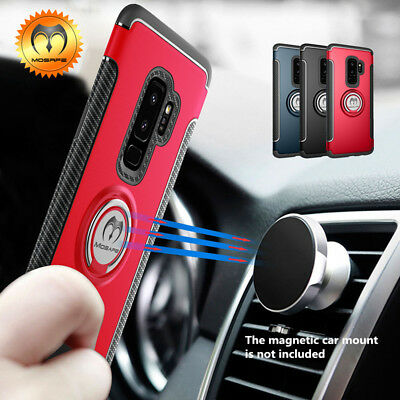 Mosafe® For Samsung Galaxy S9/S8 Plus/Note 9/8 Ring Holder Shockproof Case Cover