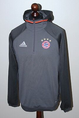 Bayern Munich Germany training jacket hoodie Adidas Size M 2016 Climawarm