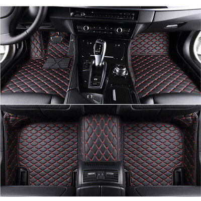 8 Colors Car Floor Mats for BMW E66-7 series Li //750Li //760Li-2002-2008 Carpets
