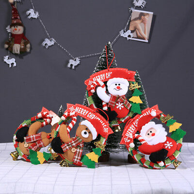 Newest Santa Claus Door Hanging Christmas Tree Home Decor Ornaments Xmas Gift AU