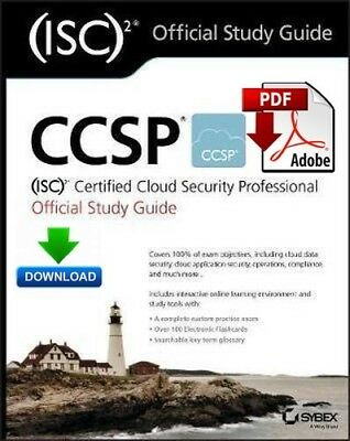 CCSP (ISC)2 Certified Cloud Security Professional Study Guide, Fast PDF DOWNLOAD