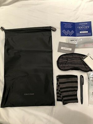 American Airlines Aa Cole Haan First Class Amenity Kit New In Bag