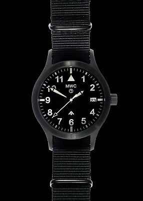 4e91960b6 MWC MKIII (100m) 1950s Pattern Automatic Ltd Edition Military Watch in  black PVD
