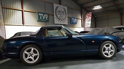 TVR Chimaera 450 Mk 2 with PAS in classic Starmist blue with Magnolia. 40k