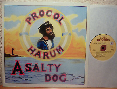 Procol Harum  A Salty Dog   Cube Records  Lp (Re)