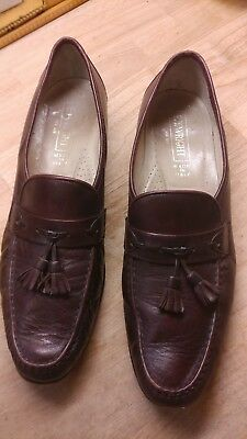 824e302f09f E.T WRIGHT MEN S Shoes Penny Loafer Size 13 W Brown Leather Slip On ...