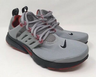 Nike Air Presto GS Gym Red Gray Shoes 833875-007 Women s Sz 8.5 Youth Size eee8d7ce2