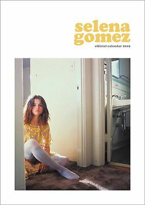 Selena Gomez Official 2019 Wall Calendar A3 New & Sealed