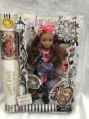Ever After High Doll~Cedar Wood~1st Chapter~Basic Re-release~Tall Sparkly Socks