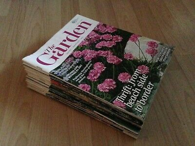 19 X The Garden Magazine June 2011 - April 2013 Royal Horticultural Society Used