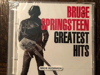 Bruce Springsteen Greatest Hits Cd- Brand New
