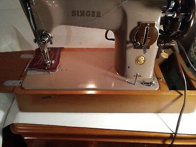 SINGER 201k   ELECTRIC SEWING MACHINE SEE IT ON YOUTUBE