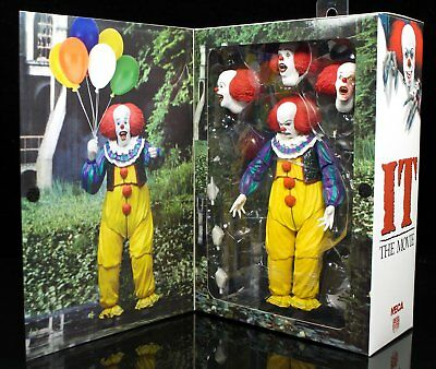 NECA Ultimate Pennywise The Clown IT Movie 1990 7 Inch Action Figure