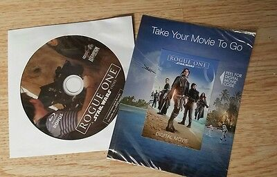 Rogue One a Star Wars Story FS - Bonus Features Blu-ray Disc and Digital HD Code