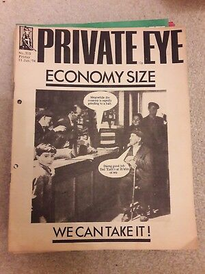 Private Eye magazines 1974 complete year