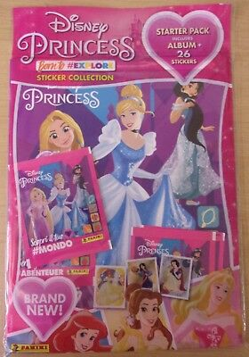 Non-sport Trading Cards 50 Packets Packs Of Disney Princess Born To Explore Stickers Panini Cheapest Price From Our Site Collectibles