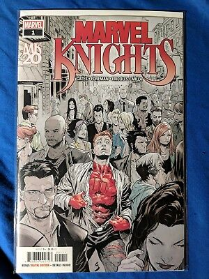 Marvel Knights 20th #1 Cover A 1st Ptg Regular Geoff Shaw Cover