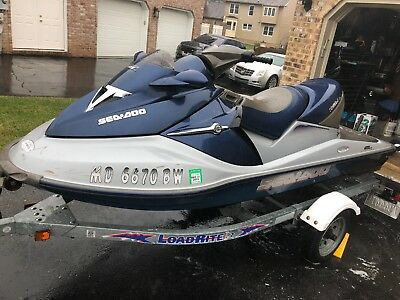 2004 SEA DOO SEADOO GTX 4 TEC Supercharged Limited Jet Ski With 2005 Load Rite Trailer