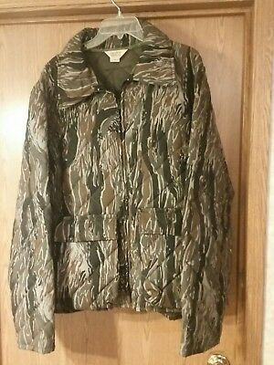 7283e544b8eb8 Vintage Clarkfield Outdoors Tree bark Coat. XL. Gray. New old stock.  insulated