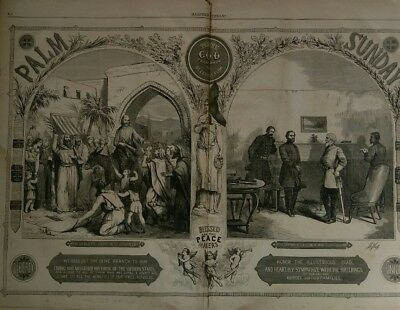 Harper's Weekly 5/20/1865  President Lincoln's funeral  Booth Killed   historic!
