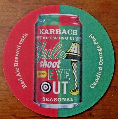 Karbach Brewing Co. Beer Coaster ~ Houston Texas Seasonal Beer