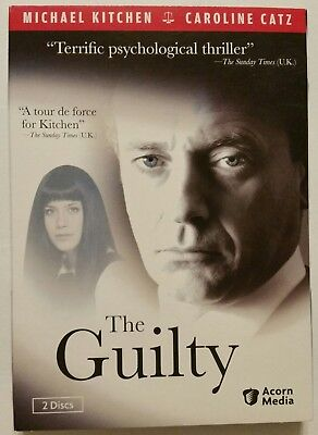 THE GUILTY (2011, 2-DVD Set w/Slipcover) *Michael Kitchen* SHIPS OUT Mon-Sat!