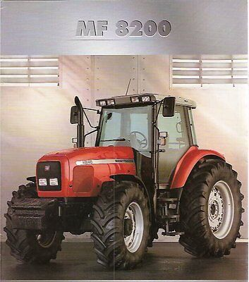MF Massey Ferguson 8200 Series Workshop Manuals  ON CD OR DOWNLOAD
