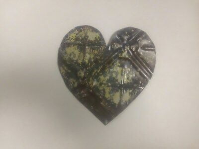 "5"" Ceiling Tin Heart #9"