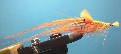 Streamer Pattegrisen orange spey Meerforelle Hornhecht Makrele Hering