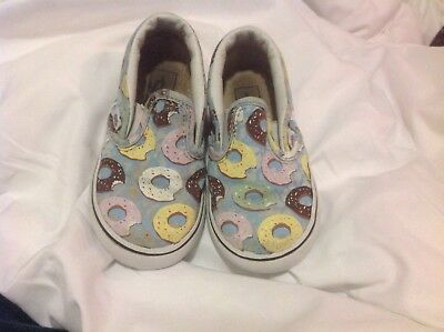7322ff40faba5e VANS OFF THE Wall From Yo Gabba Gabba Toddler Size US 6 Sneakers ...