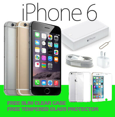 NEW IN APPLE BOX iPhone 6 16GB 64GB 128GB 100% GENUINE UNLOCKED SMARTPHONE