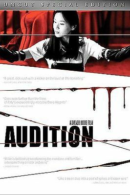 Audition (DVD, 2005) RESEALED LIKE NEW IN EXCELLENT CONDITION SHIPS WITH CASE