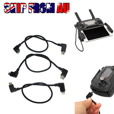 AU Lightning to Micro USB cable 30cm for DJI Spark iPhone & iPad OTG cable
