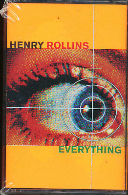 Henry Rollins - Everything (2 Cassettes Tapes) **BRAND NEW/STILL SEALED**