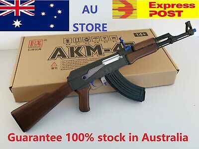 Au Store Gel Ball Blaster AK47 Water Crystal Bullet Darts Toy Adult Size