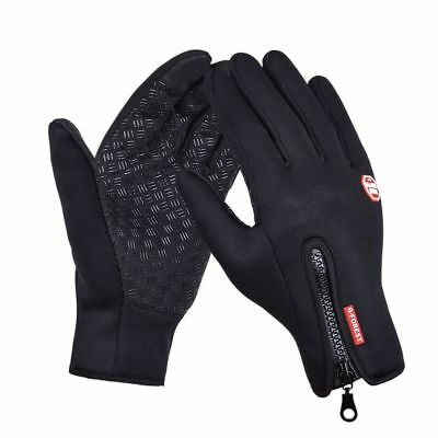 Outdoor Sports Hiking Bicycle Bike Cycling Winter Gloves Windstopper