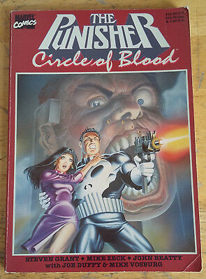 The Punisher: Circle of Blood TPB (2001, Marvel )