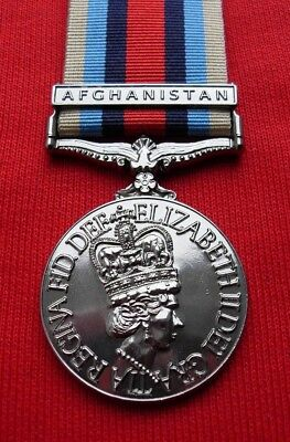 Medals - British Army Osm. Operational Service Medal For Afghanistan - Full Size